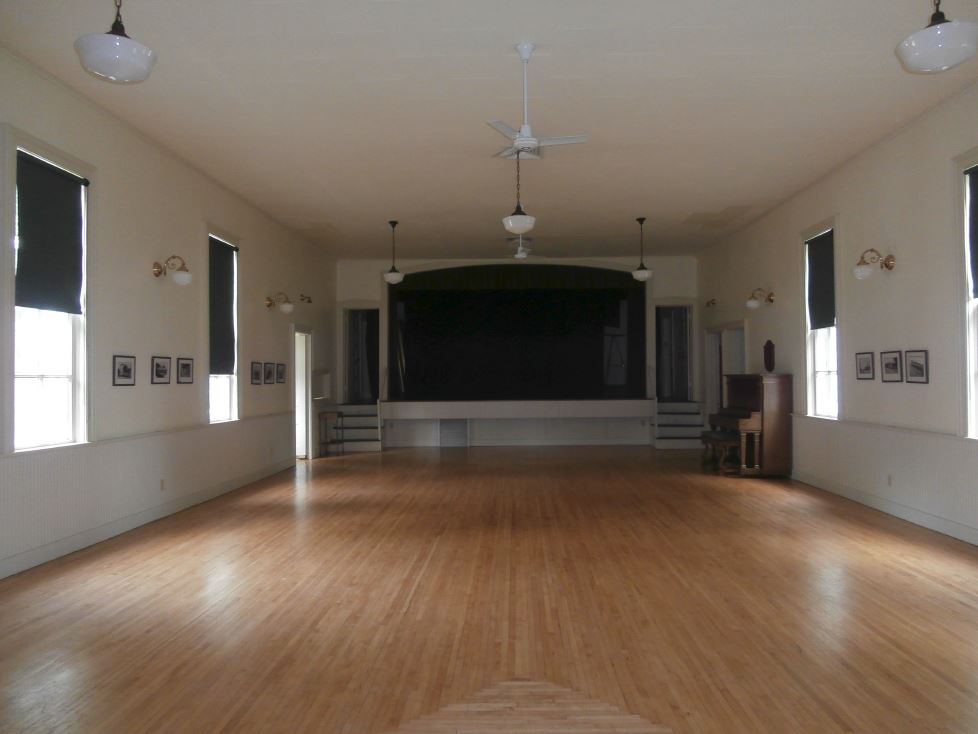 Old Town Hall Interior & Stage